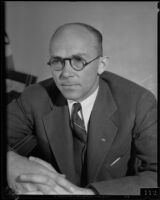 Carl S. Kegley, attorney, missed deadline to appeal dismarment, Los Angeles, circa 1935