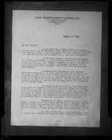 Letter from C. C. Julian of the New Monte Cristo Mining Co. to its stockholders dated 10 August 1929, probably photographed 1929-1933