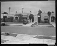 House of Harry Meagher and location of his murder, at 580 North Irving Blvd., Los Angeles, 1933