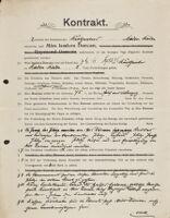 Kontrakt, 1905 June 14