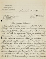 Letter to Isadora Duncan, 1904 October 28
