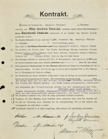 Kontrakt, 1904 November 14