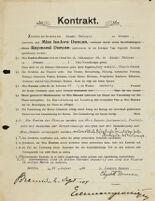 Kontrakt, 1904 August 31