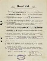 Kontrakt, 1904 September 23