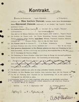 Kontrakt, 1904 September 8
