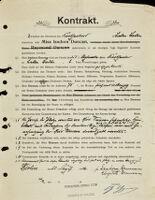 Kontrakt, 1904 August 20