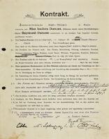 Kontrakt, 1904 September 6