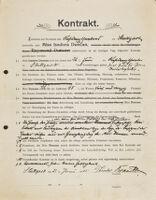 Kontrakt, 1905 June 21