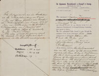[Agreement], 1907 October 22