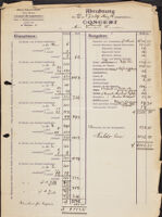 Abrechnung, 1906 March