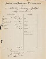 [Cash accounting], 1906 April 5