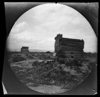 Ruins of an ancient Roman bath in west Kayseri, Turkey, 1891