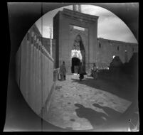 Portal to the Huand Hatun Külliyesi, Kayseri, Turkey, 1891