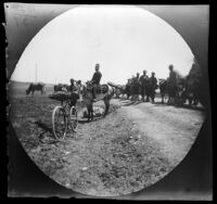 Scene on the road down to the model farm, Sivas vicinity, Turkey, 1891