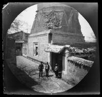 Güdük Minare, tomb of Seyh Hasan Bey of Ertana, Sivas, Turkey, 1891