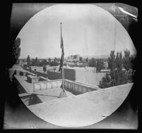 View of Tabrīz from the roof of the Turkish Consulate, Tabrīz, Iran, 1891