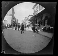 Street scene on Aeolus Street (Aiolou?), Athens, 1891