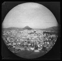 Panoramic view of Lycabettus and the city of Athens, looking northeast, 1891