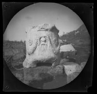 Altar to Dionysos south of the Theater of Dionysus Eleuthereus, Athens, 1891