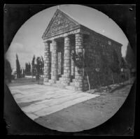 Chapel of St. Demetius in the Greek Cemetery, Athens, 1891