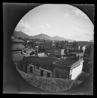 View of Erzeroum taken from the roof of the American School looking southwest, Turkey, 1891