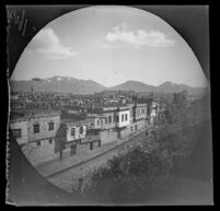 View from the roof of the Sanasarian School, Erzurum, Turkey, 1891