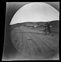 William Sachtleben looking towards the village of Tchayiskhan along the route from Geyve to Beypazari, Turkey, 1891