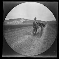 William Sachtleben approaching Eye Yash en route from Beypasari to Ankara, Turkey, 1891