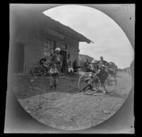 William Sachtleben at an inn on the road from Beypazari to Ankara, Turkey, 1891