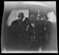 William Sachtleben and Thomas with a group of German inhabitants, Tashkent, Uzbekistan, 1891