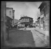 Street scene, Bursa, Turkey, 1895