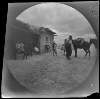 William Sachtleben at an inn along the route from Geyve to Beypazari, Turkey, 1891