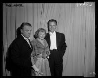 James Cagney, June Allyson, and Dick Powell, Academy Awards, Los Angeles, 1950