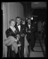 Deborah Kerr and Stewart Granger at the Academy Awards, Los Angeles, 1950