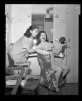Diosa Costello and Norma Calderon, Philharmonic Auditorium, Los Angeles, 1950