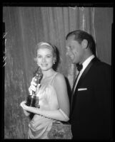 Grace Kelly and William Holden, Academy Awards, Los Angeles, 1955