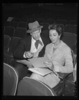 Fred Astaire and Dana Wynter, Pantages Theatre, Los Angeles, 1958