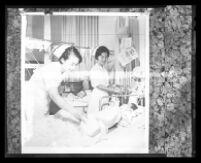 Visiting nurses from Thailand, Los Angeles, 1966