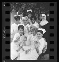 Graduates of the Queen of Angels School of nursing, Los Angeles, 1967