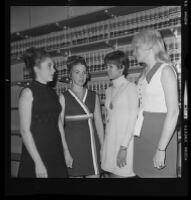 Widows of CHP shooting victims, Van Nuys, 1970
