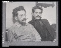 Ricardo Flores Magón and his brother Enrique Flores Magón, Los Angeles, 1916