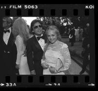 John Mercedes and Charlene Tilton, Beverly Hills, 1981