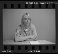 Pre-operative transsexual prisoner Anna Marie Mostyn, formerly Jeffrey Spears, at the California Medical Facility in Vacaville, 1983