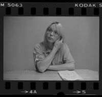 Anna Marie Mostyn, transsexual prisoner, California Medical Facility, Vacaville, 1983