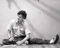 Don Sparks, folk dancer, Japan America Theatre, Los Angeles, 1984