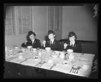 Female military officers, Birmingham General Hospital, Van Nuys, 1944