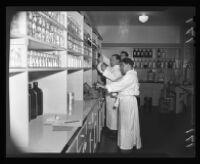 Doctors at Birmingham General Hospital, Los Angeles, 1944