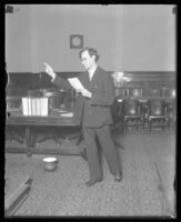William A. Clark, [California?], 1923