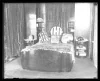 Bedroom in the penthouse of the Oviatt Building, Los Angeles, 1930