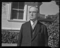 Joseph R. Knowland at the California Newspaper Publishers' Association annual convention, Los Angeles, 1936